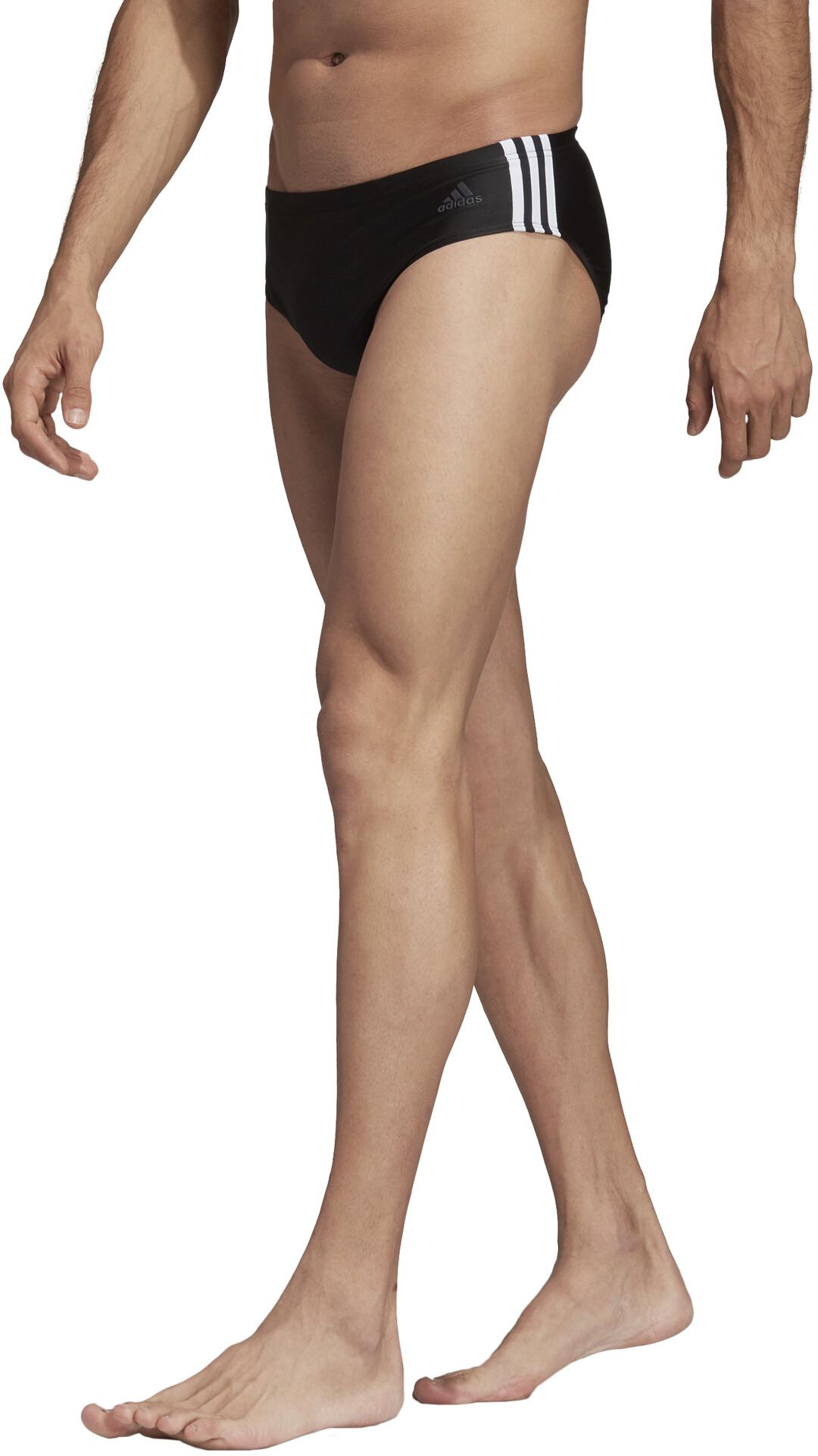 77f0807cf35f4 adidas Fit 3-Stripes - Maillot de bain Homme - noir - Boutique de ...